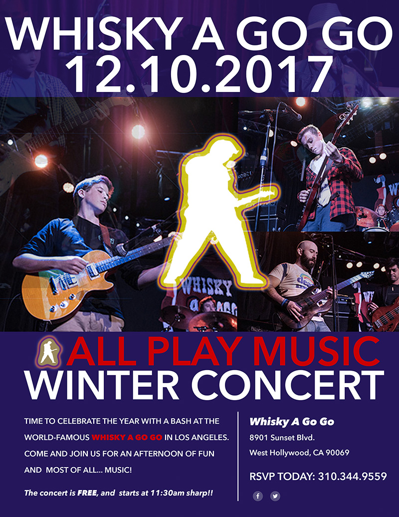 All Play Music Winter Concert 2017