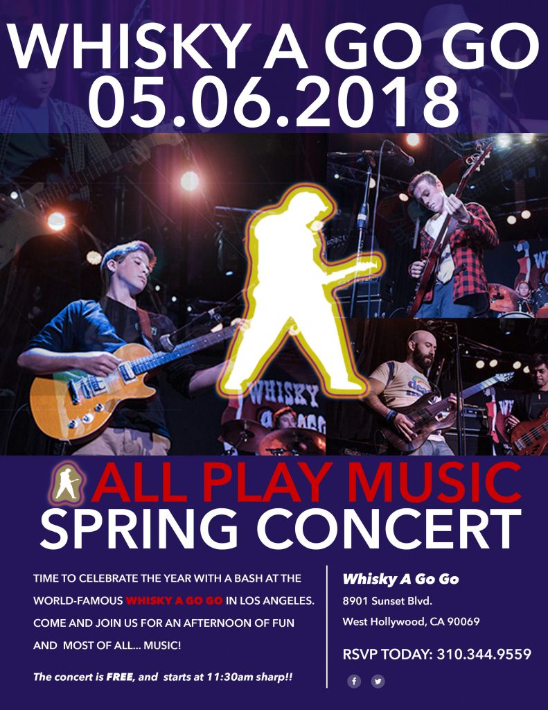 2018 All Play Music Spring Concert